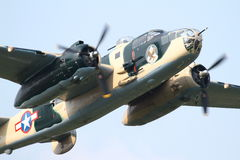 B25 Mitchell- at La Comina 100 anniversary Stock Photography