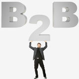 B2B concept Royalty Free Stock Image