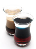 B52 und Irishcoffee stockbild