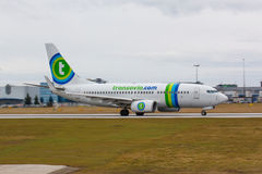 B737 Transavia Royalty Free Stock Photography
