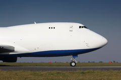 B747 nose Stock Image