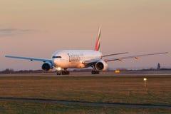 B777 Emirates Stock Photos