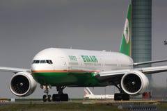B777 Eva Air Royalty Free Stock Images