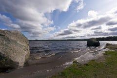 BA¶les-Norann湖,瑞典 免版税库存图片