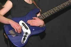 Baß-Gitarre Stockfotos