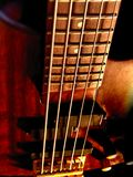 Baß-Gitarre der Zeichenkette-5 Stockfoto