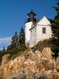 Baß-Hafen-Leuchtturm, Acadia-Nationalpark Stockbilder