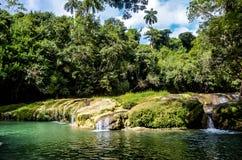 Baños del San Juan, Las Terrazas, Κούβα στοκ εικόνες