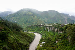 Baños, эквадор стоковое фото