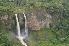 Baños de Agua Санта стоковое фото rf