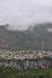 Baños de Agus Santa, Ισημερινός στοκ φωτογραφία
