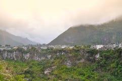 Baños de Agus Santa, Ισημερινός στοκ εικόνα