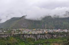 Baños DE Agus Santa, Ecuador stock afbeeldingen