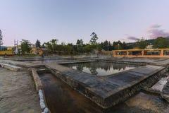 Baños del Inca Στοκ φωτογραφία με δικαίωμα ελεύθερης χρήσης