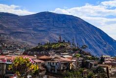 Baños nell'Ecuador Immagini Stock