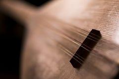 BaÄŸlama or Saz (Turkish Folk Instrumant) stock photography