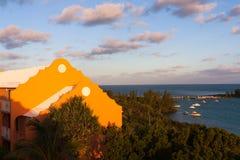 Baía Bermuda da gruta Foto de Stock Royalty Free