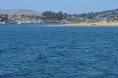 Baía Califórnia de Morro da praia Foto de Stock