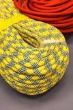 Baía da corda de escalada colorido para escalar foto de stock royalty free