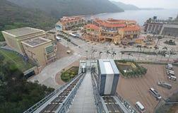 Baía da descoberta, ilha de Lantau, Hong Kong imagem de stock
