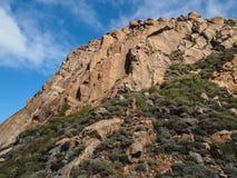 Baía da rocha de Morro Fotografia de Stock
