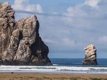 Baía da rocha de Morro Imagens de Stock
