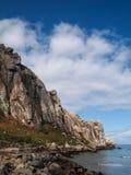 Baía da rocha de Morro Imagens de Stock Royalty Free