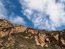 Baía da rocha de Morro Imagem de Stock