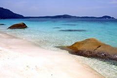 Baía da tartaruga em Malásia Foto de Stock