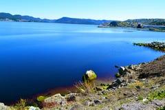 Baía das ilhas no amanhecer Imagens de Stock Royalty Free
