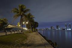 Baía de Biscayne imagens de stock royalty free