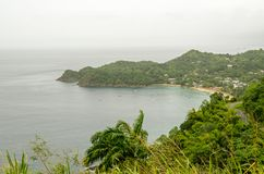 Baía de Castara, Tobago Imagem de Stock