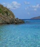 Baía de Coki em St Thomas Foto de Stock Royalty Free