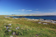 Baía de Crossapol, ilha de Coll Imagens de Stock