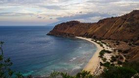 A baía de Dili, Timor Leste imagem de stock