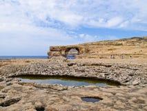 Baía de Dwejra Imagem de Stock Royalty Free