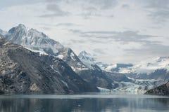 Baía de geleira, Alaska Imagens de Stock