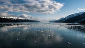 Baía de geleira Alaska Fotografia de Stock