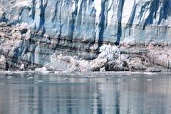 Baía de geleira Alaska imagem de stock