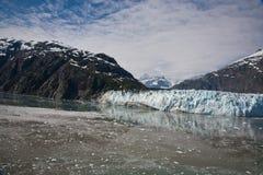 Baía de geleira Alaska Imagens de Stock
