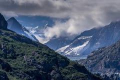 Baía de geleira cênico em Alaska fotografia de stock