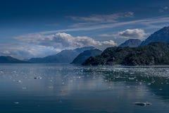 Baía de geleira cênico em Alaska foto de stock royalty free