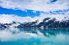 Baía de geleira em Alaska, Estados Unidos Fotografia de Stock