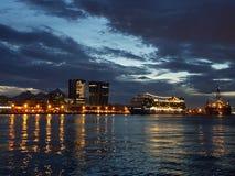 Baía de Guanabara - Rio de Janeiro - Brasil royalty free stock image