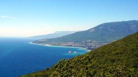 Baía de Gurzuf Imagem de Stock