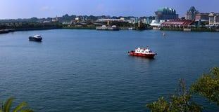 Baía de Harbourfront em Singapura Fotos de Stock