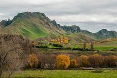 A baía de Hawke no outono Em algum lugar em Nova Zelândia Imagens de Stock
