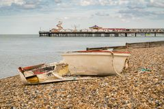 Baía de Herne, Kent, Inglaterra, Reino Unido fotografia de stock