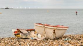 Baía de Herne, Kent, Inglaterra, Reino Unido imagem de stock