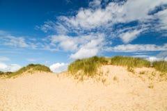 Baía de Holywell em Cornualha Reino Unido fotografia de stock
